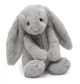 Jellycat Bashful Grey Bunny: Medium 12""