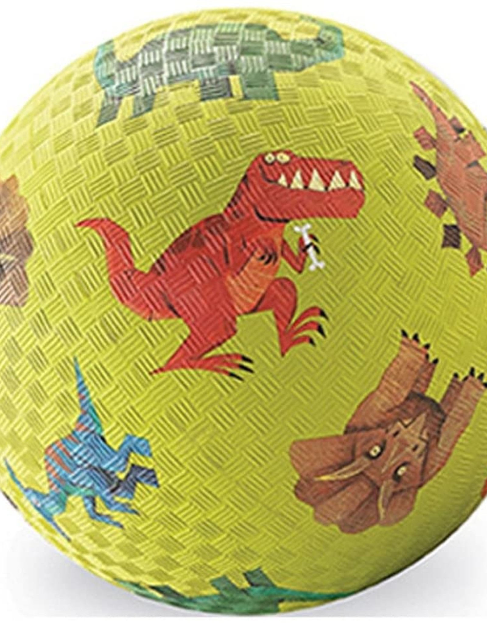 "Crocodile Creek 7"" Playball: Dinosaurs Green"
