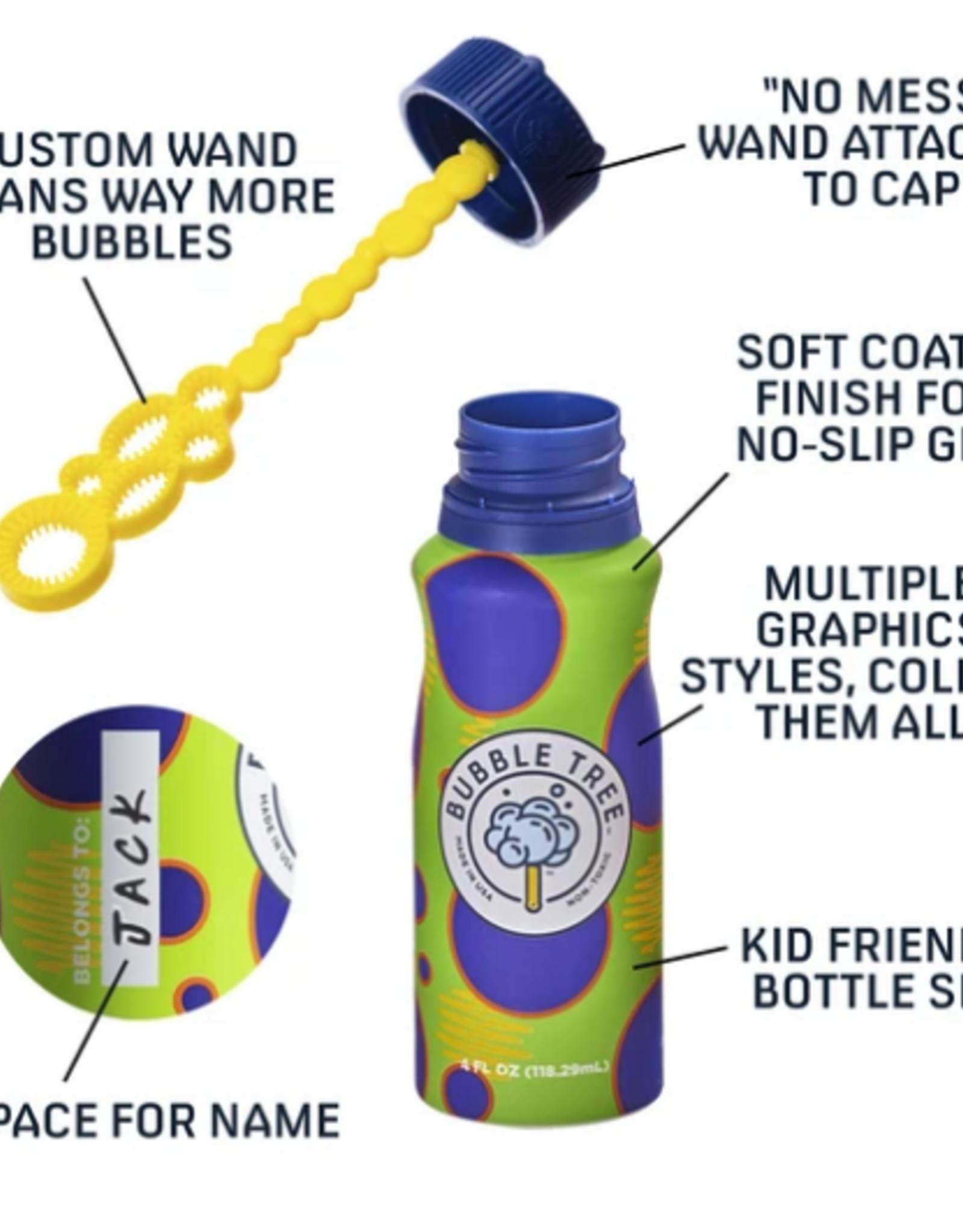 Bubble Tree 4-pack Original Refillable bubble system bottles