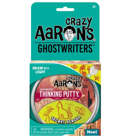 "Crazy Aaron's Putty World Ghostwriters 4"": Secret Scroll"