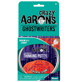 "Crazy Aaron's Putty World Ghostwriters 4"": Cryptic Code"