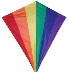 Premier Kites Kite: 30 IN. DIAMOND - RAINBOW