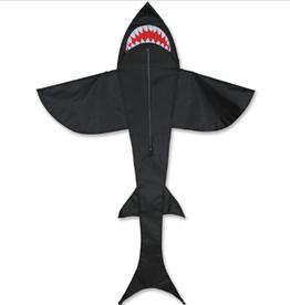 Premier Kites Kite: 5 FT SHARK - BLACK