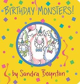 Workman Publishing BOYNTON: BIRTHDAY MONSTERS!