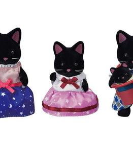 Epoch Everlasting Play Midnight Cat Family