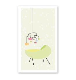 Rock Paper Scissors Enclosure Card: Baby Mobile
