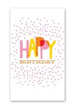Rock Paper Scissors Enclosure Card: Confetti Birthday