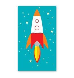 Rock Paper Scissors Enclosure Card: Rocket Ship
