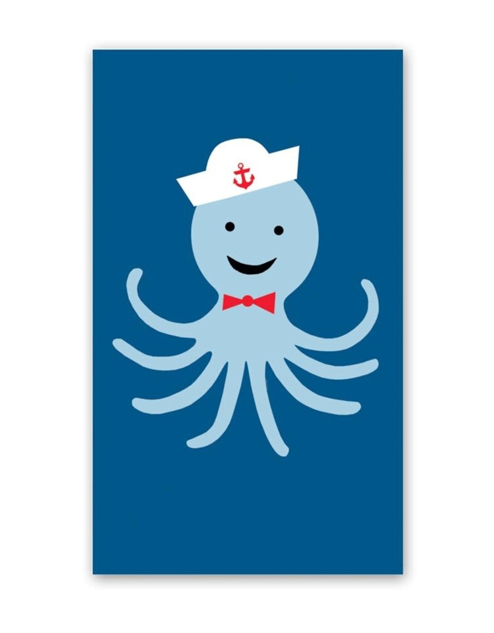 Rock Paper Scissors Enclosure Card: Sailor Octopus