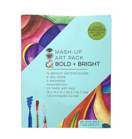 Bright Stripes Mash Up Art Pack Bold & Bright
