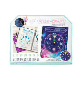 Bright Stripes Moon Phase Journal