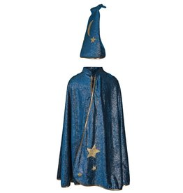 Creative Education Starry Night Wizard Cape & Hat, Size 5-6