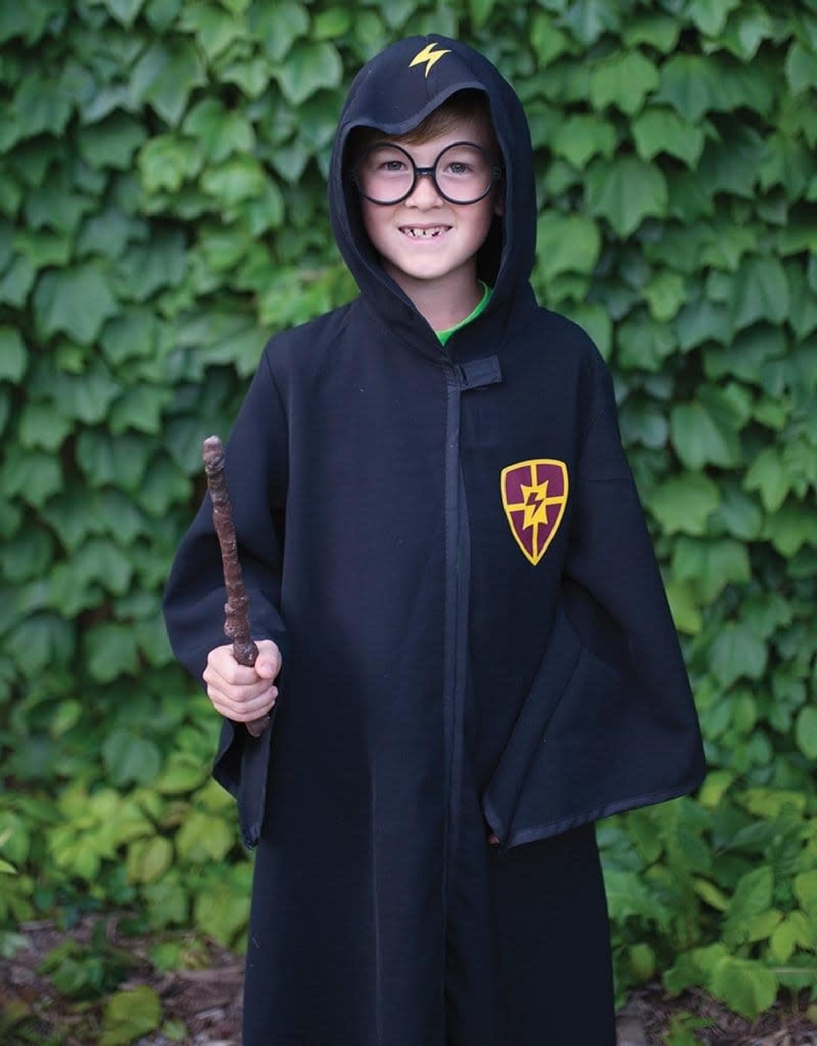 Creative Education Wizard Cloak & Glasses, Size 5-6