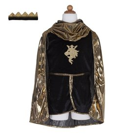 Creative Education Golden Knight With Tunic, Cape, & Crown, Size 5-6