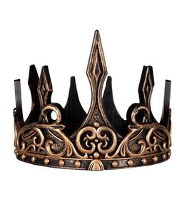 Creative Education Medieval Crown: Gold/Black