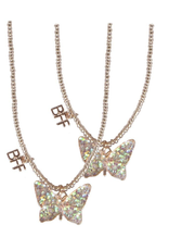 Creative Education BFF Butterfly Share & Tear Necklace 2 Pcs