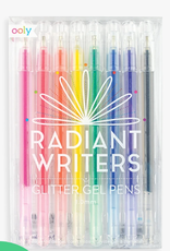 Ooly Radiant Writers Glitter Pens: Set of 8