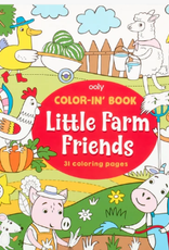 Ooly Color-in' Book: Little Farm Friends
