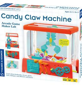Thames & Kosmos Candy Claw Machine-Arcade Game Maker Lab