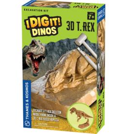Thames & Kosmos 3D T. Rex Excavation Kit