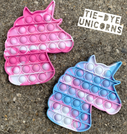 Top Trenz OMG Pop Fidgety: LE Tie Die Unicorn