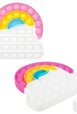 """The Toy Network Rainbow Cloud Bubble Popper, 6.26"""""""