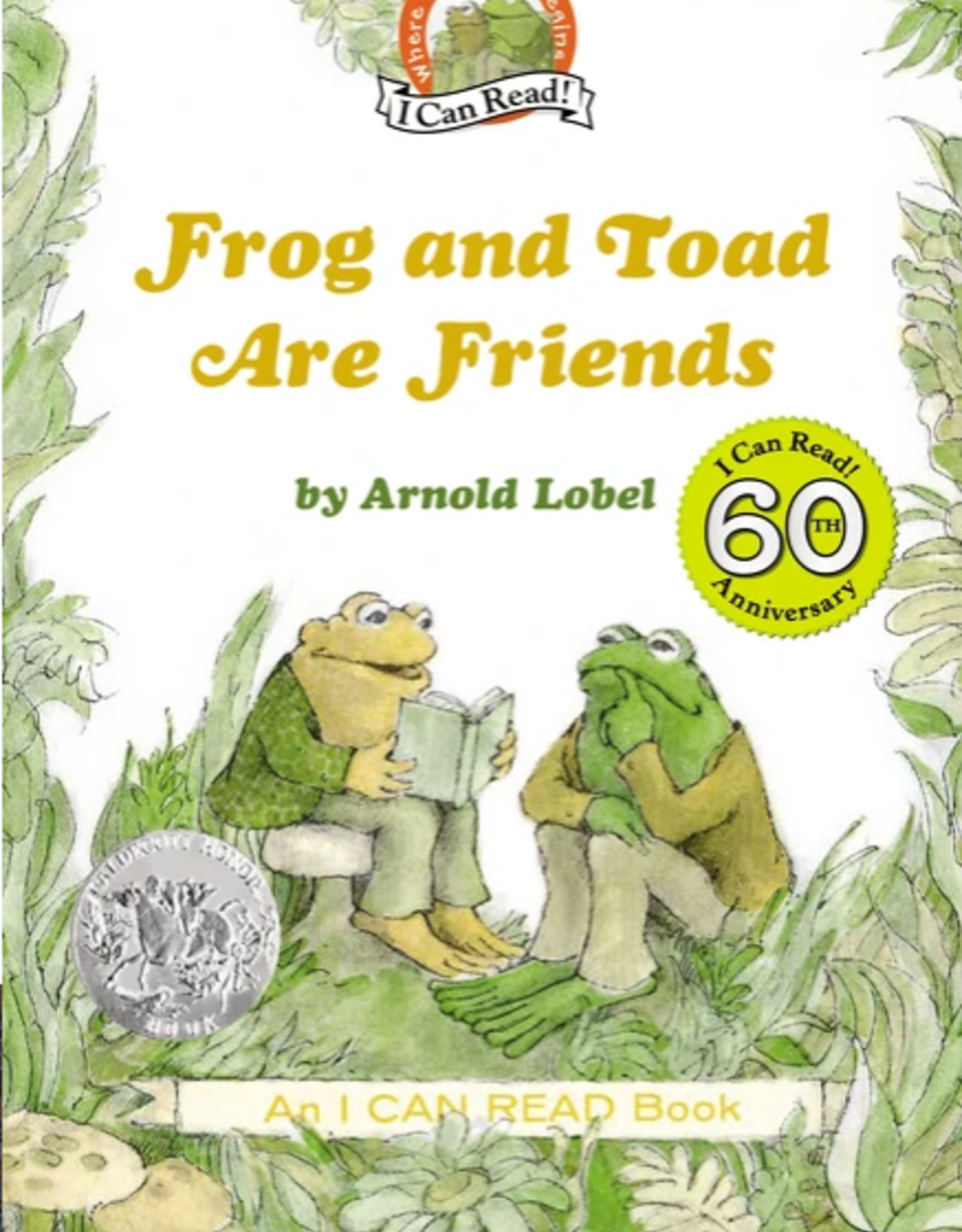 Harper Collins Frog and Toad Are Friends