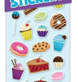 Peaceable Kingdom Puffy Stickers: Sweet Treats