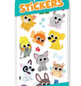 Peaceable Kingdom Googly Eye Stickers: Silly Pets