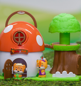 Fat Brain Toy Co Timber Tots: Mushroom Surprise