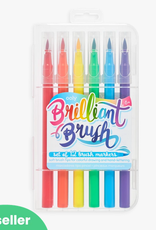 Ooly Brilliant Brush Markers: Set of 12
