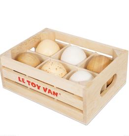 Le Toy Van Half Dozen Farm Eggs