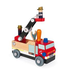Janod Brico'Kids DIY Fire Truck