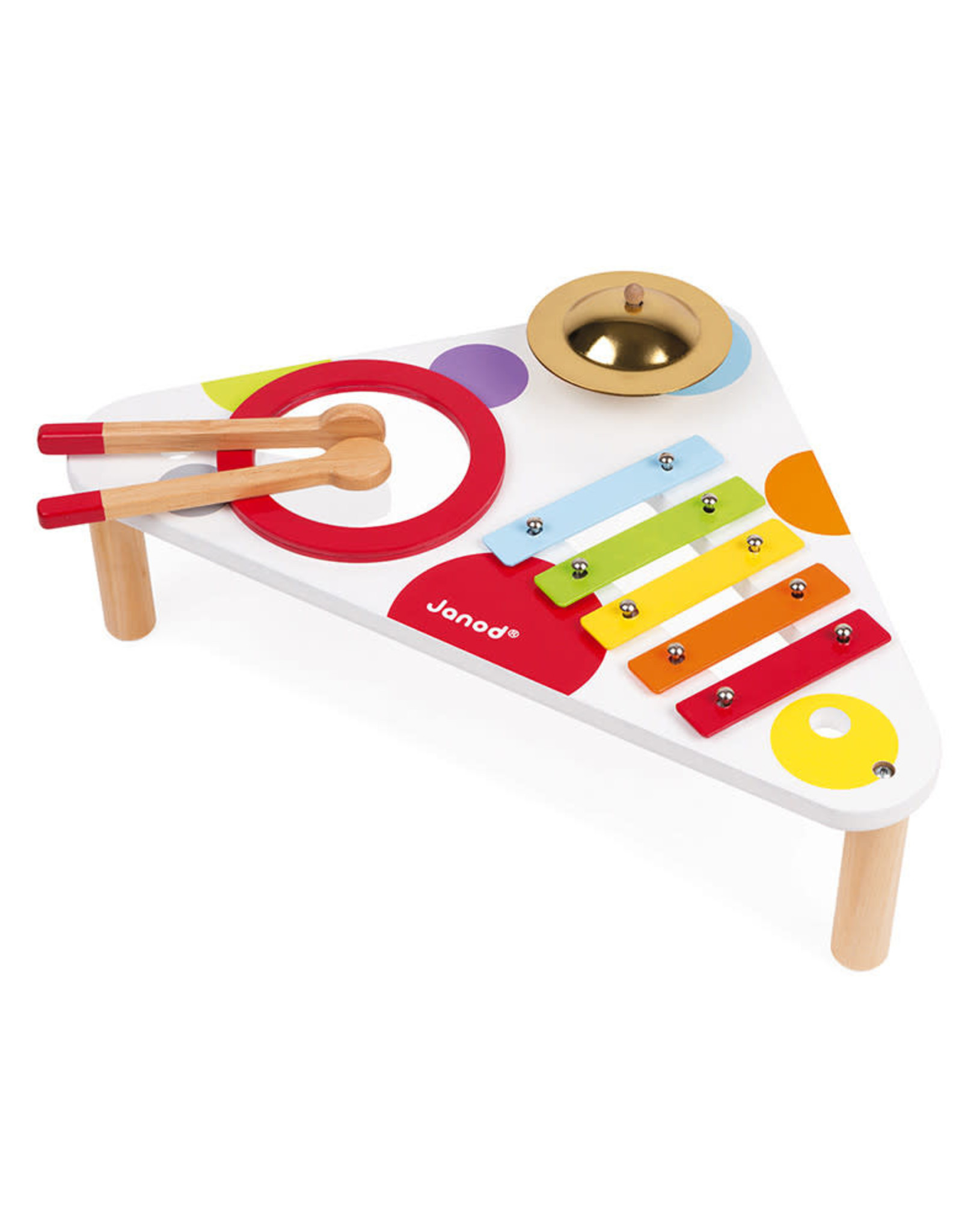 Janod Confetti Musical Table