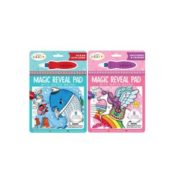 Bright Stripes Magic Water Reveal Pad: Fantasy
