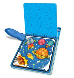 Bright Stripes Magic Water Reveal Pad: Action