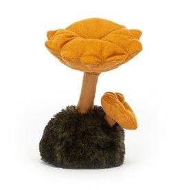"Jellycat Wild Nature Chanterelle Mushroom 5"""