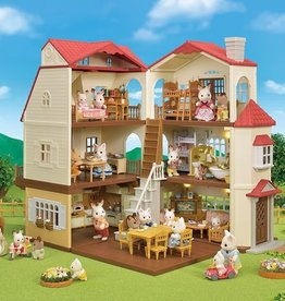 Epoch Everlasting Play Red Roof Grand Mansion Gift Set