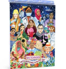 eeBoo International Women's Day Sketchbook