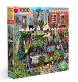 eeBoo 1000pc-Puzzle: Urban Gardening