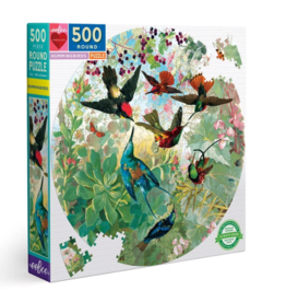 eeBoo 500pc-Puzzle: Hummingbirds