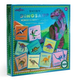 eeBoo Shiny Dinosaur Memory and Matching Game