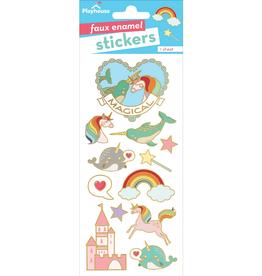 Paper House Magical Faux Enamel Stickers