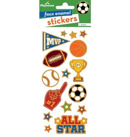 Paper House Sports Enamel Sticker