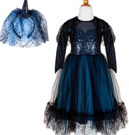 Creative Education Luna the Midnight Witch Dress & HB, size 5-6