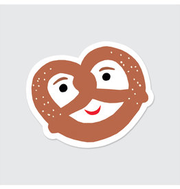 Rock Paper Scissors Sticker: Pretzel