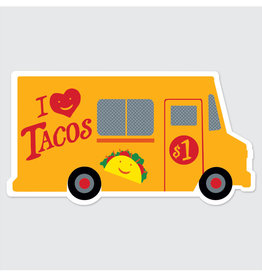 Rock Paper Scissors Sticker: Taco Truck