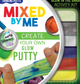 Crazy Aaron's Putty World Mixed by Me Kit, Glow in the Dark