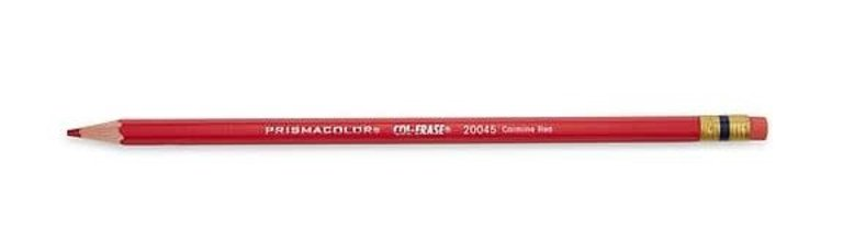 Col Erase Colored Pencil Carmine Red Risd Store