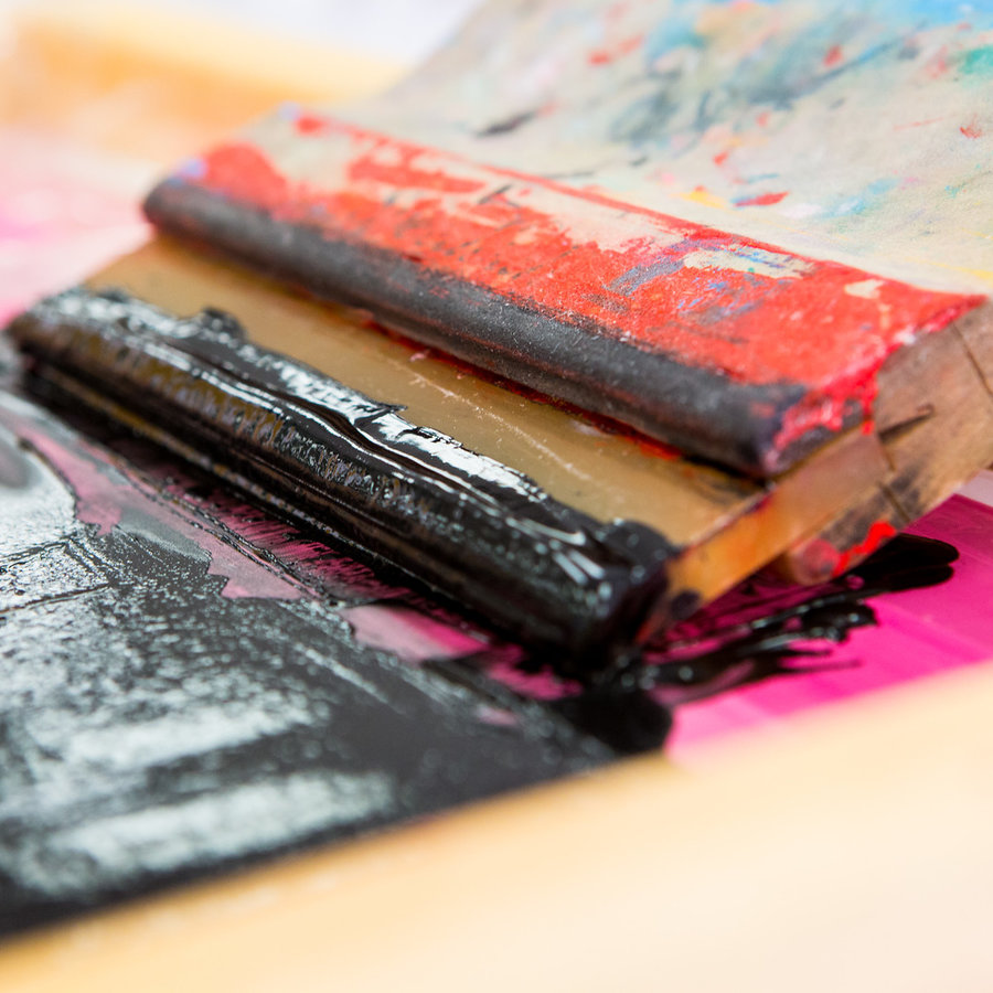 Lois Harada Silkscreen Monoprinting (Online) 0629-01